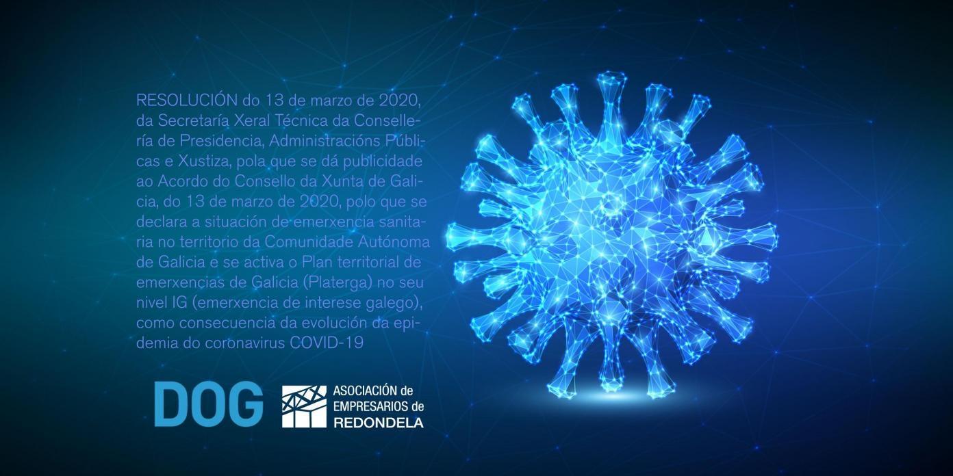 Medidas preventivas en materia de salud pública en la Comunidad Autónoma de Galicia, como consecuencia de la evolución de la epidemia del coronavirus COVID-19