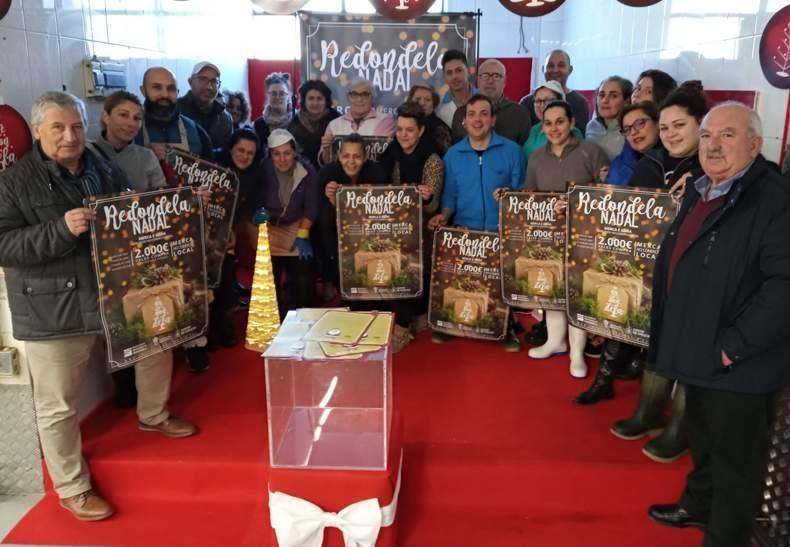 Presentación da Campaña de Nadal na Praza de Abastos de Redondela