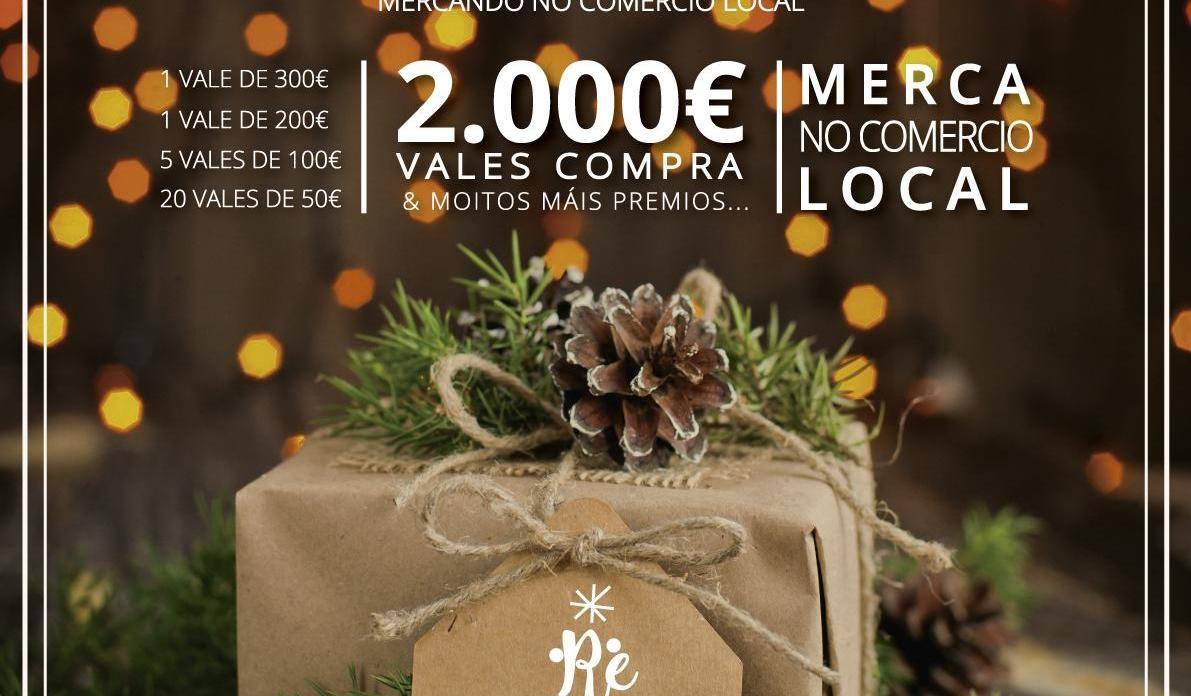 A Asociación de Empresarios de Redondela presenta unha campaña de Nadal marcada polo selo da ecoinnovación comercial.