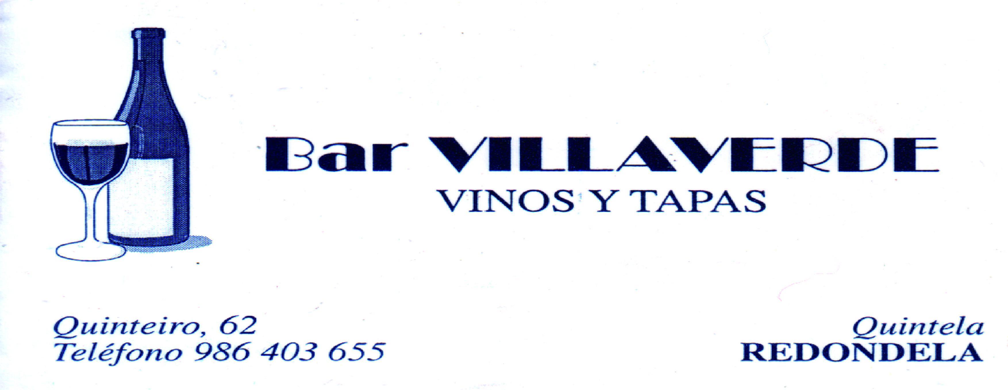 BAR VILLAVERDE