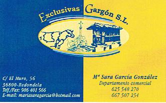 EXCLUSIVAS GAR-GON, S.L.